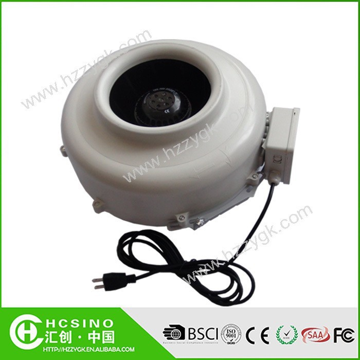 High efficiency Plastic inline duct china centrifugal blower fan