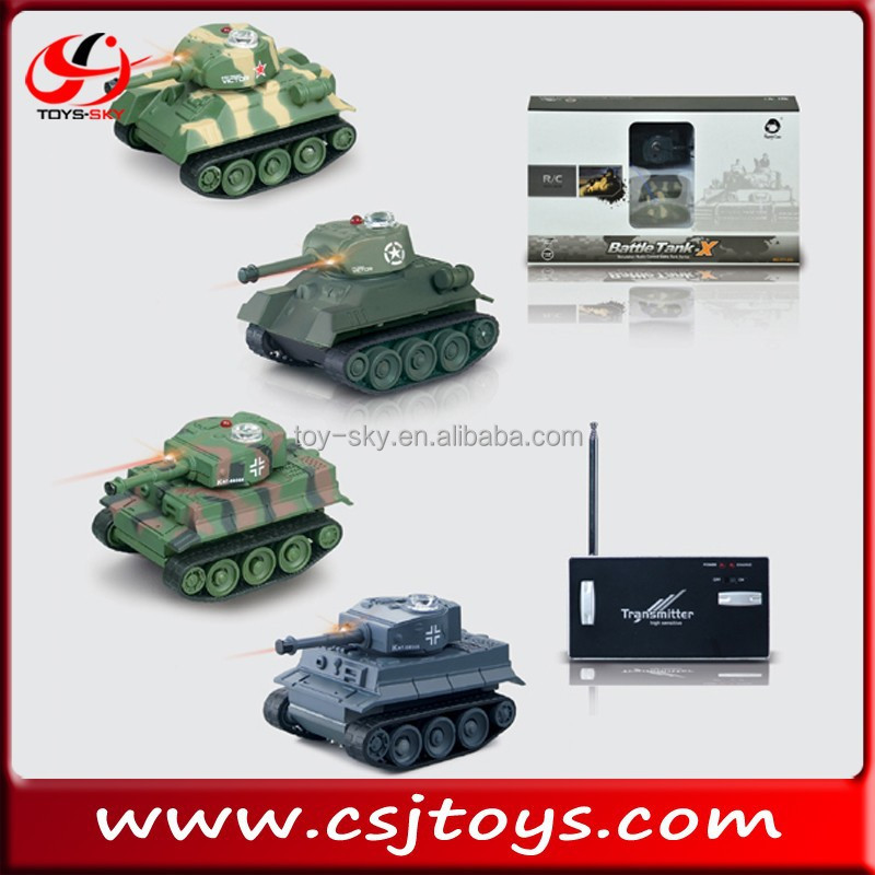 hot sell remote control mini RC battle tank kid model tanks