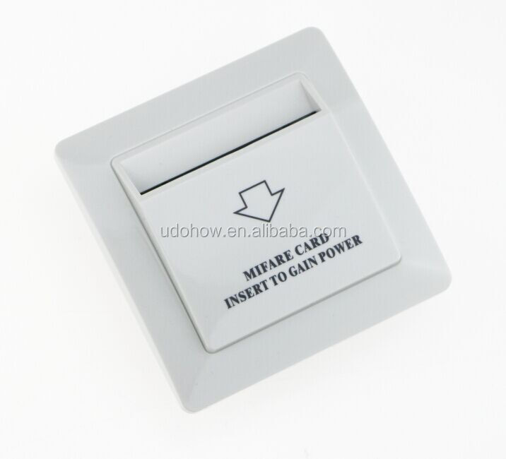 Hotel Smart key card power saver switch