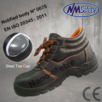 NMSAFETY SAFETY SHOE WITH STEEL TOE AND GOOD YEAR WELT CONSTRUCTION