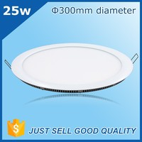 CRI > 80 PF >0.9 80-85 lm/w 25w slim panel led light,50000 hour lifespan 25w dimmable led panel