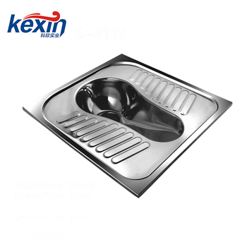 Wholesale High Quality Stainless Steel Squat Toilet (CE APPROVED)