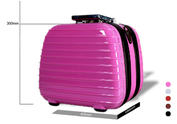 mini suitcase /abs +pc trolley / dragonking luggage/ vanity bag