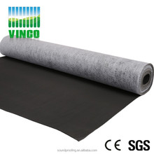 newly PVC waterproof soundproof material indoor or outdoor floor used