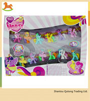 Cartoon pony toy small horse /PVC toy for Children