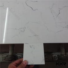 Veined Pattern Engineered Artificial Marble Quartz Stone