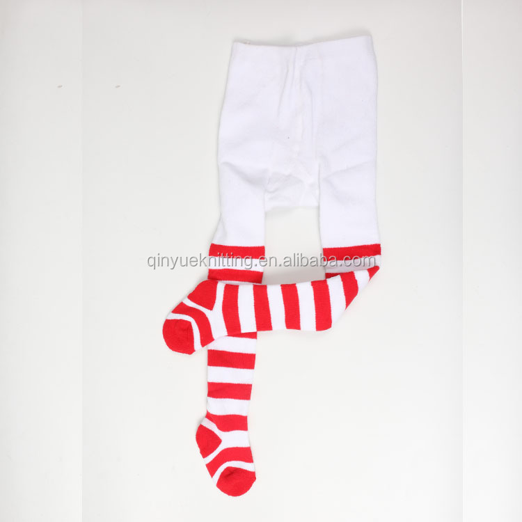 christmas design baby cotton tights