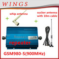 wifi repeater gsm980S blue cellphone signal repeater 2g/3g/4g signal booster With LCD 900MHz