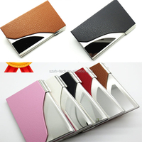 leather business card holder or name card holder / credit card holder / leather gifts