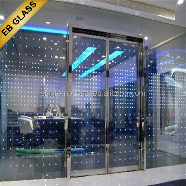 electrical color change LED glass, eb glas