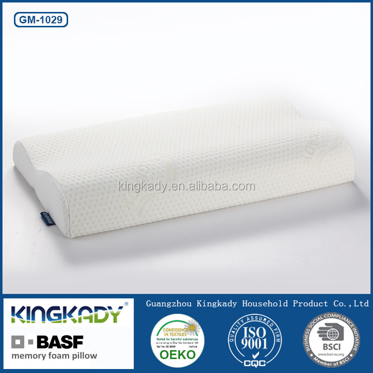 Slow rebound comfortable cervical ergonomic memory foam pillow