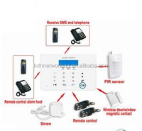 GSM alert host intelligent alarm built in strong capacity battery anti theft security system