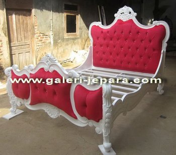 Fancy Bedroom Furniture - French Classic Bedroom Jepara Furniture