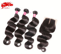 cheap virgin brazilian body wave weave extension italian human hair