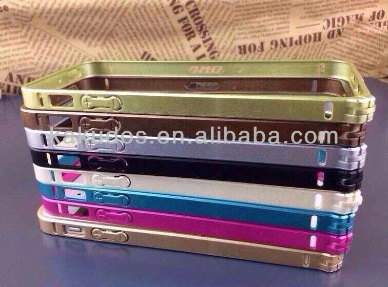 Factory Supply PC+TPU Edge Bumper for 5 / 5s OEM Welcomed