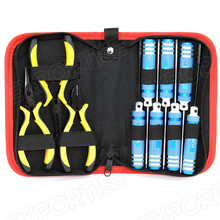 Screwdriver & Pliers Tool Kit Box Set for RC Plane Helicopter