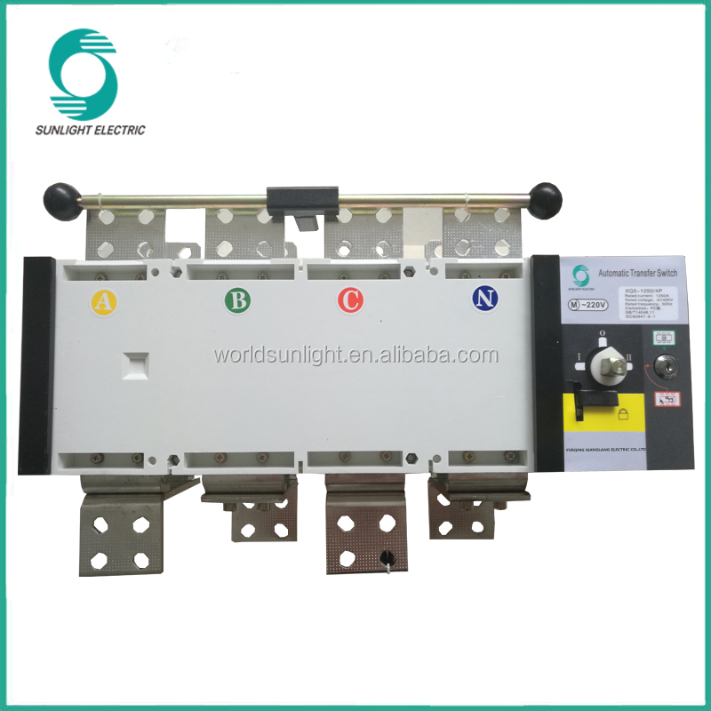 auto changeover switch IEC, CCC, CE 16A~3200A 3P,4P Automatic Transfer Switch generator