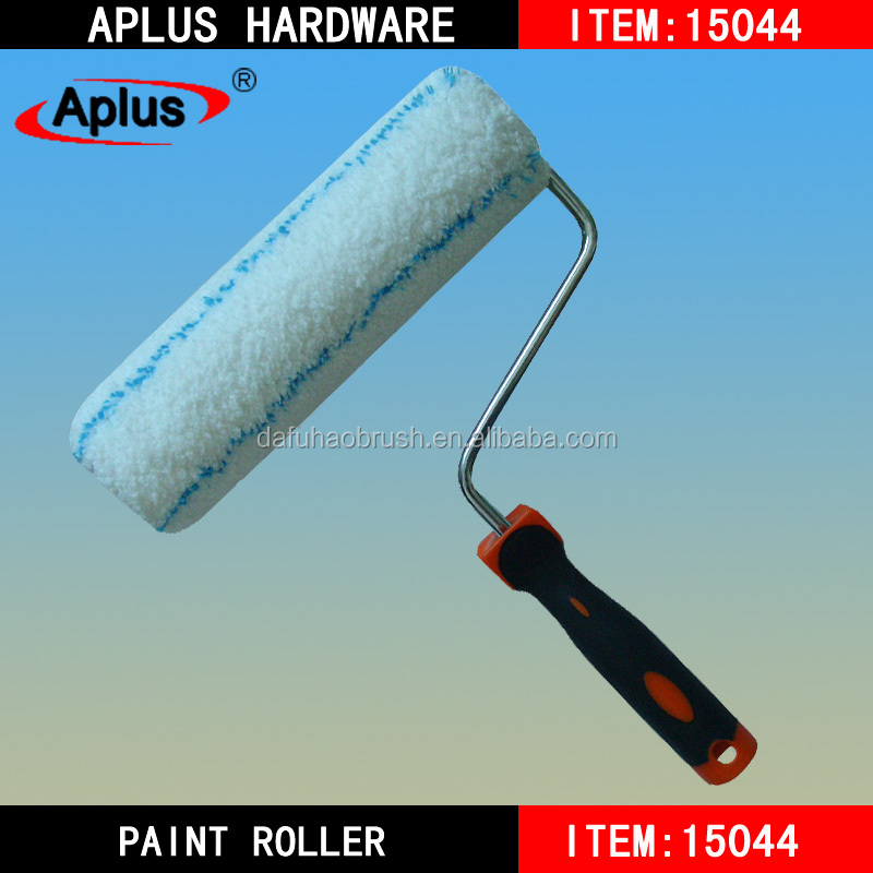 soft rubber handle painting roller for woodworking