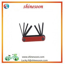 professional bicycle tools Muti bike repair tool / 7 In floding bicycle tool set