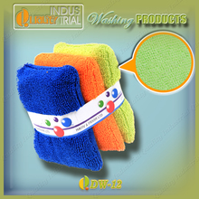 Beatiful Microfiber Cloth, fiber washing pad, colored washing sponge