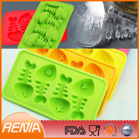 RENJIA silicone mold fish,fish shaped mold, ice fishing
