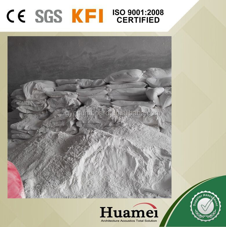 Raw material gypsum plaster powder prices for Kuwait
