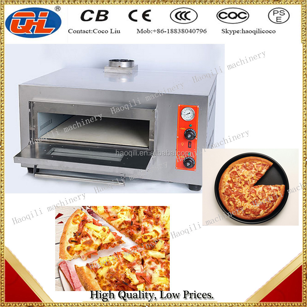 The most popular one layer pizza oven | gas burner for pizza oven