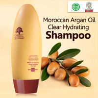 Private label manufacturers argan oil herbal shampoo for hair extensions