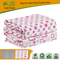 Organic/Gots Swaddle Blankets Newborn Cotton Baby Muslin Blanket Spain