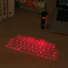 Traditional Keyboard Layout Bluetooth Connaction Virtual Laser Keyboard for Microsoft for IOS for Android