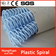 16mm Plastic Spiral Binding Coils - 4:1 pitch (Box of 100)