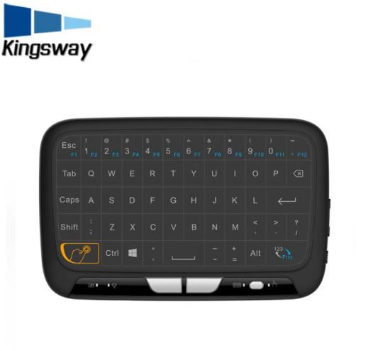 Original factory production mini touch pad h18 touch pad 2.4g mini keyboard with mouse