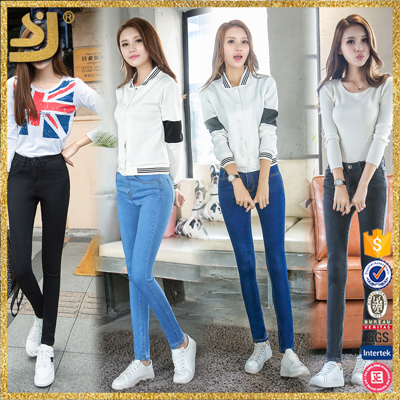 Hot Sale Customized Funky Pantalones Color Women Jeans