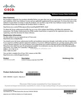 Cisco L-SL-29-DATA-K9= IOS Data - License - 1 router - delivered by email