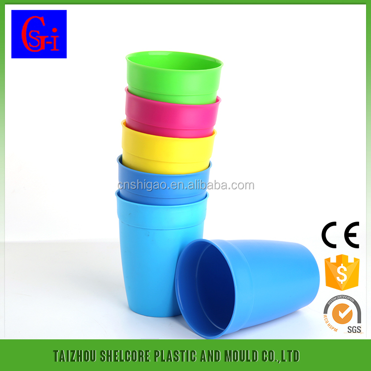 Compact Low Price Disposable Colored Plastic Cups