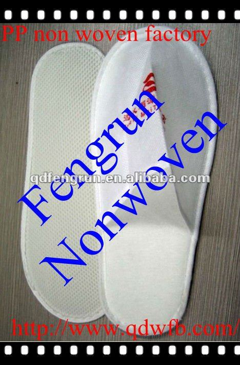 PP nonwoven cheap one-time sandal slippers