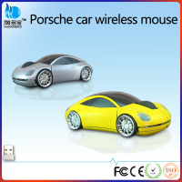 Fashion Sport Car shaped Wireless mouse optical 2.4Ghz computer mouse