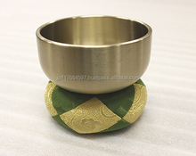 Premium and High quality buddhist accessories high quality cushion bell with Original made in Japan