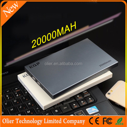 best selling products Slim powerbank 20000mAh on china