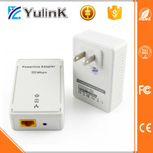 Mini wifi extender 500m powerline network adapter