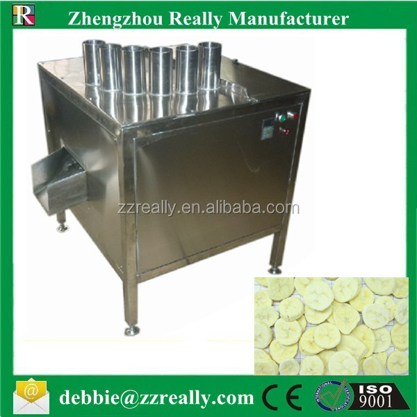 Banana slicing machine/ Banana cutting machine/ Fruit slicing machine for sale