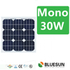 Top standard high efficiency 30w mono solar panel for sale