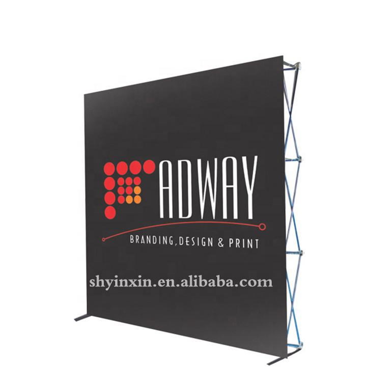 Custom Advertising Backdrop Banner Pop Up Banner Fabric <strong>Displays</strong>