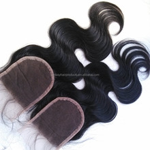 Best-selling human hair Wholesale charming u part lace closure