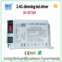 WiFi 2.4G wireless remote control led dimmable driver 700ma-1000ma intelligent power supply