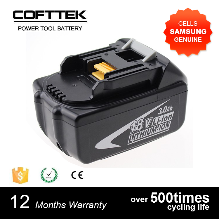 3.0Ah 4.5Ah 18V Lithium Ion Heavy Duty Battery for Makitas BL1830, BL1815 LXT