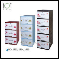 Plastic Stackable Storage Drawers Storage Cabinets Wholesale Price