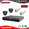 AHD 4ch DVR DIY cctv camera system