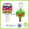 made in china cheap customized pvc key cap key cover key chain