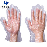 PE Glove Disposable Food HDPE Hand